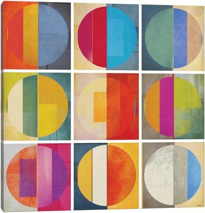 Pattern Tiles I Canvas Art Print
