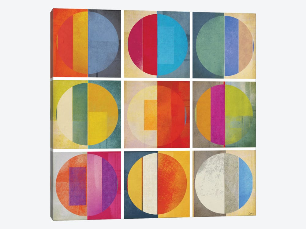 Pattern Tiles I by NOAH 1-piece Canvas Art