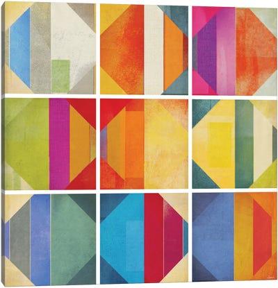 Pattern Tiles II Canvas Art Print