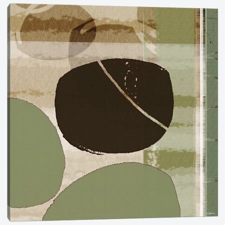 Skipping Stones III Canvas Print #NOH31} by NOAH Canvas Print