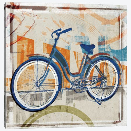 Speedway Canvas Print #NOH38} by NOAH Art Print