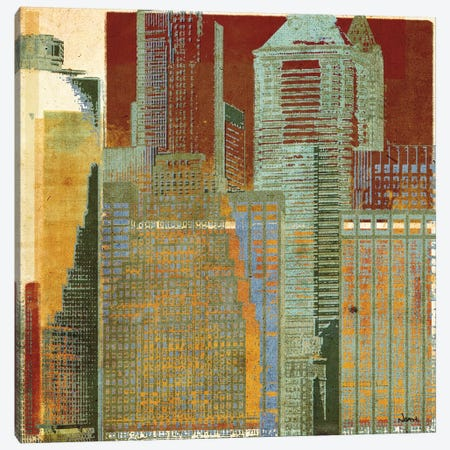 Urban Blocks I Canvas Print #NOH42} by NOAH Canvas Wall Art