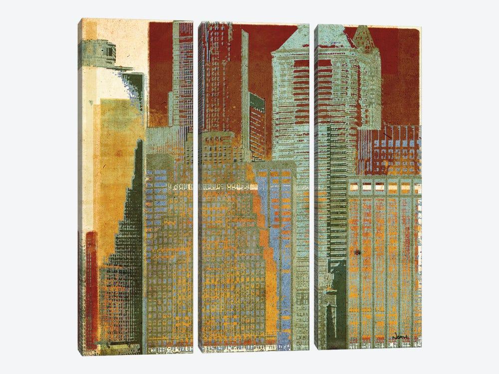 Urban Blocks I by NOAH 3-piece Canvas Print