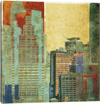 Urban Blocks II Canvas Art Print