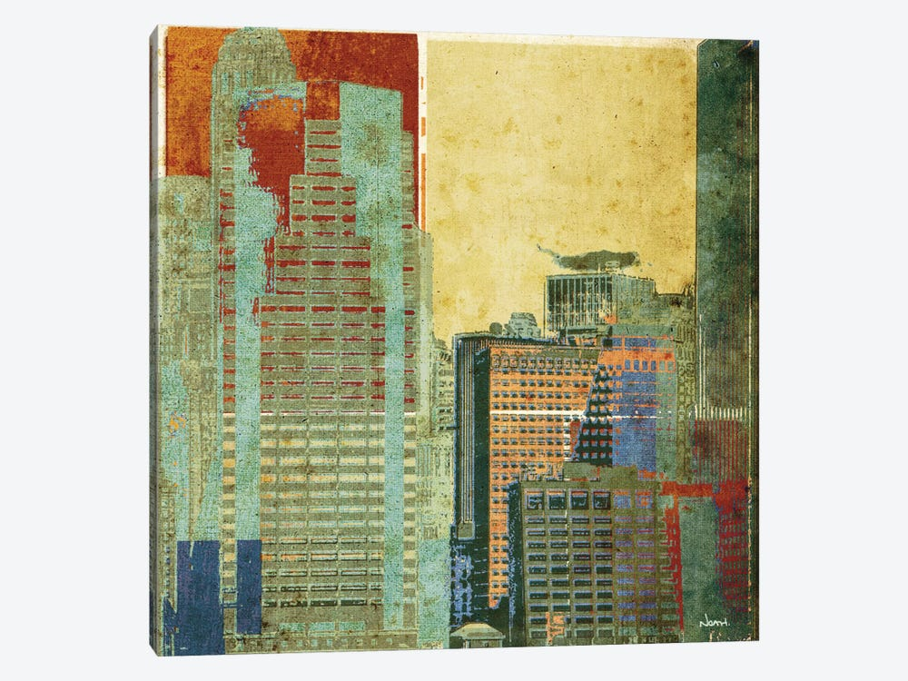 Urban Blocks II by NOAH 1-piece Canvas Wall Art