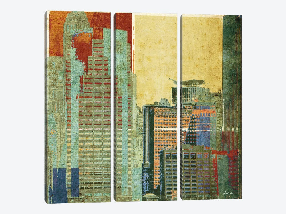Urban Blocks II by NOAH 3-piece Canvas Artwork