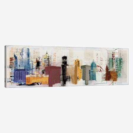 Urban Designs Canvas Print #NOH44} by NOAH Canvas Art Print