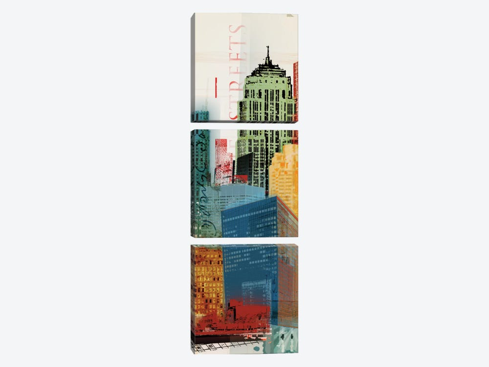 Urban Style II by NOAH 3-piece Canvas Art Print