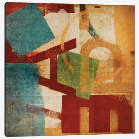 Alphabet Soup II Canvas Print #NOH4} by NOAH Canvas Artwork