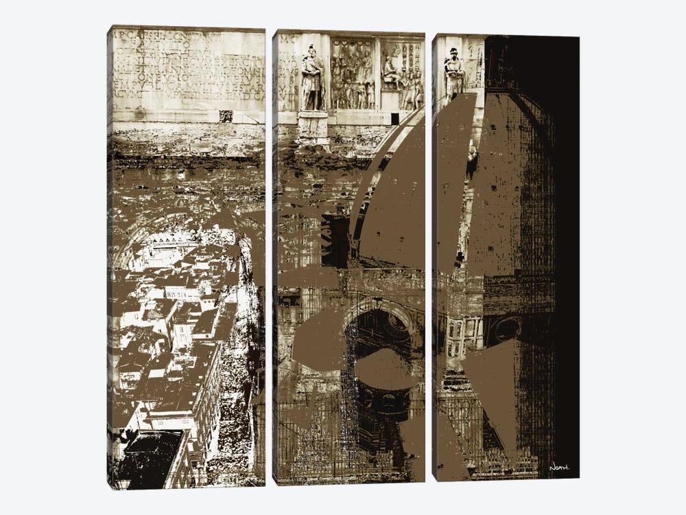 Architectural Renaissance I by NOAH 3-piece Canvas Print