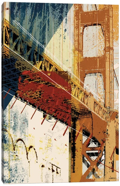 Into Manhattan I Canvas Art Print