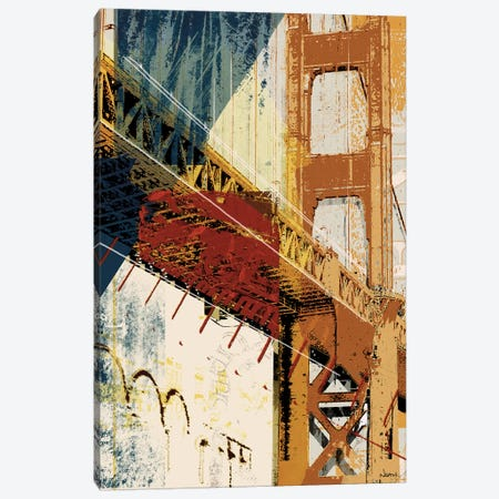 Into Manhattan I Canvas Print #NOH61} by NOAH Canvas Wall Art