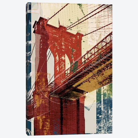 Into Manhattan II Canvas Print #NOH62} by NOAH Canvas Art