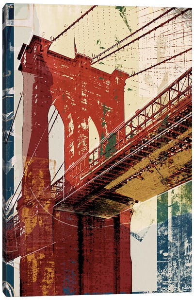 Into Manhattan II Canvas Art Print