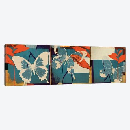 Butterflies Viola Canvas Print #NOH7} by NOAH Canvas Art