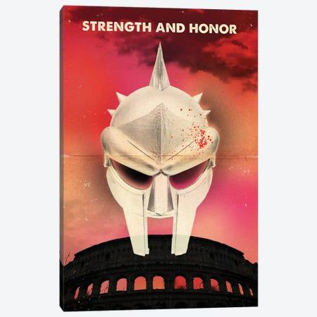 Gladiator Travel Movie Art Canvas Print #NOJ114} by 2Toastdesign Canvas Art Print