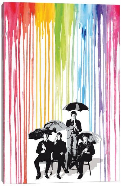 The Beatles Pop Art Canvas Art Print