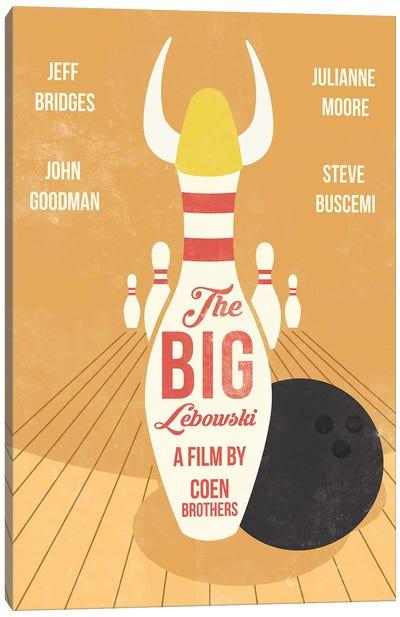 The Big Lebowski Movie Art Canvas Art Print