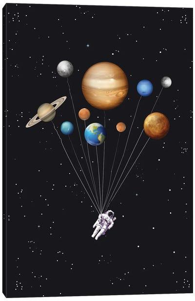 Space Traveller Canvas Art Print