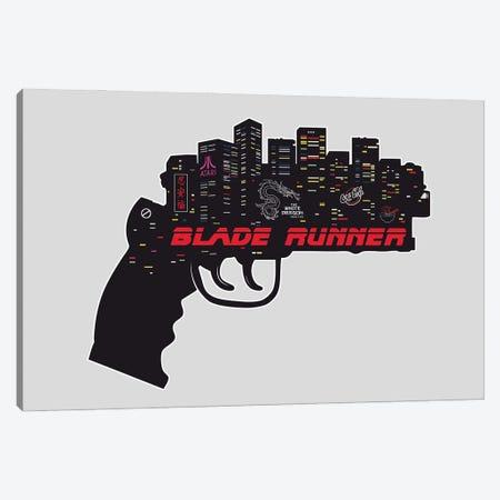 Blade Runner Movie Art Canvas Print #NOJ14} by 2Toastdesign Canvas Artwork