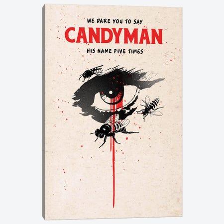 Candyman Movie Art Canvas Print #NOJ18} by 2Toastdesign Canvas Art Print