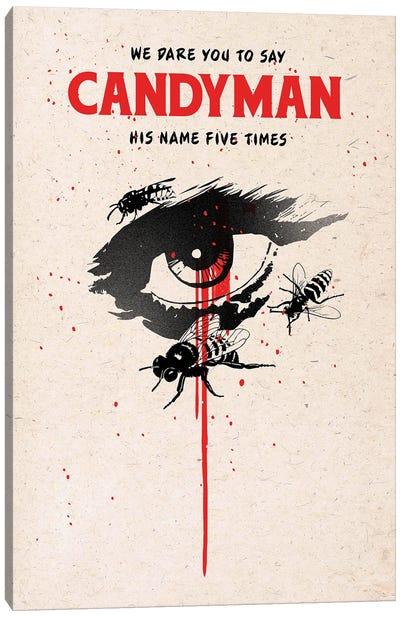Candyman Movie Art Canvas Art Print