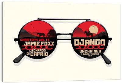Django Movie Art Canvas Art Print