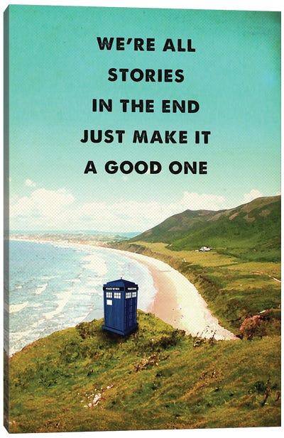 Doctor Who Travel Movie Art Canvas Art Print