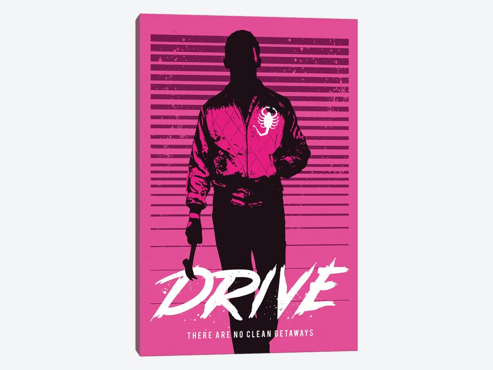 Drive Movie Art by 2Toastdesign 1-piece Canvas Art