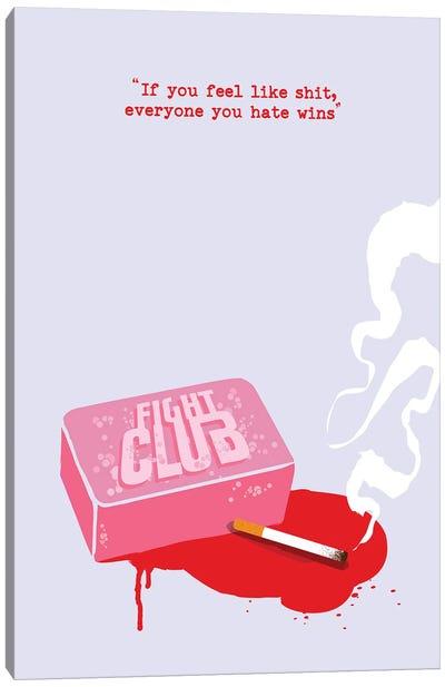 Fight Club Soap Art Canvas Art Print