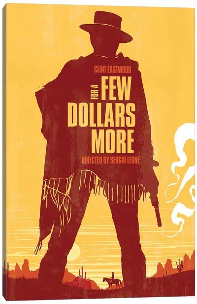 A Few Dollars More Movie Art Canvas Art Print