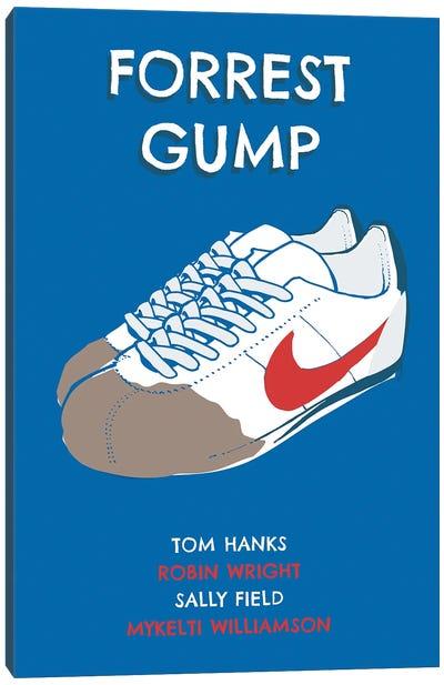 Forrest Gump Sneakers Art Canvas Art Print