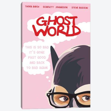 Ghost World Movie Art Canvas Print #NOJ44} by 2Toastdesign Art Print