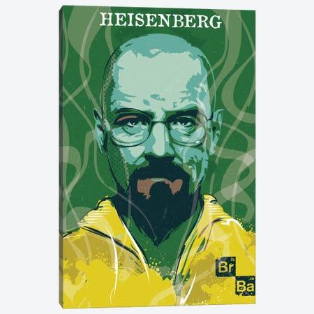 Heisenberg Art Canvas Print #NOJ49} by 2Toastdesign Canvas Wall Art
