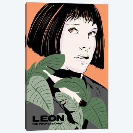 Mathilda Leon The Professional Movie Art Canvas Print #NOJ66} by 2Toastdesign Canvas Art Print