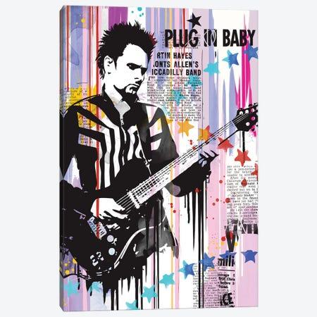 Matt Bellamy Pop Art Canvas Print #NOJ71} by 2Toastdesign Canvas Print