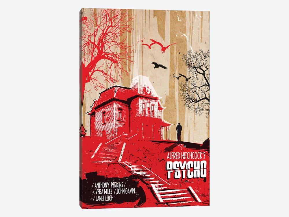 Psycho Movie Art by 2Toastdesign 1-piece Art Print