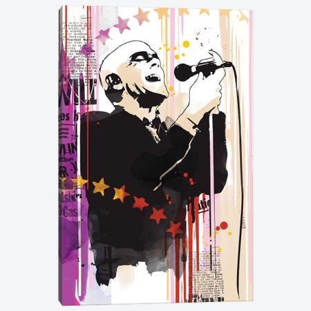 Michael Stipe Pop Art Canvas Print #NOJ79} by 2Toastdesign Canvas Art Print