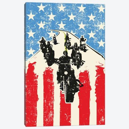 Sons Of Anarchy Art Canvas Print #NOJ90} by 2Toastdesign Canvas Print