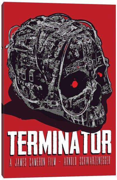 Terminator Movie Art Canvas Art Print