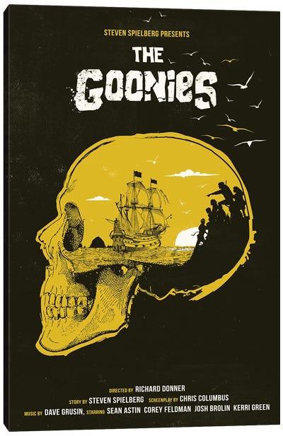 The Goonies Movie Art Canvas Art Print