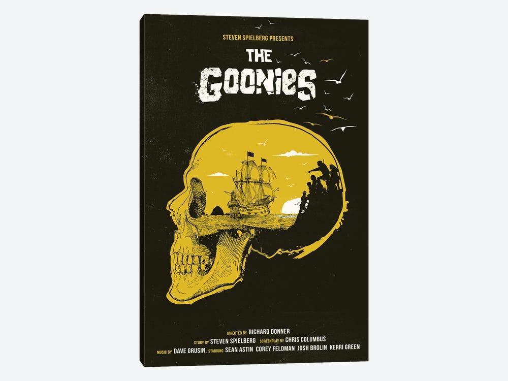 The Goonies Movie Art by 2Toastdesign 1-piece Canvas Artwork