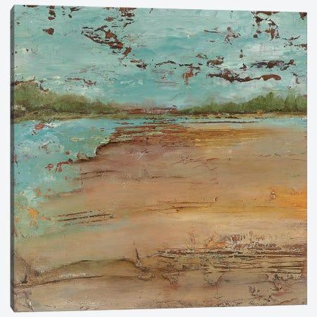 Sunset Lake I Canvas Print #NOL10} by Norm Olson Art Print