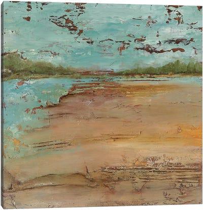 Sunset Lake I Canvas Art Print