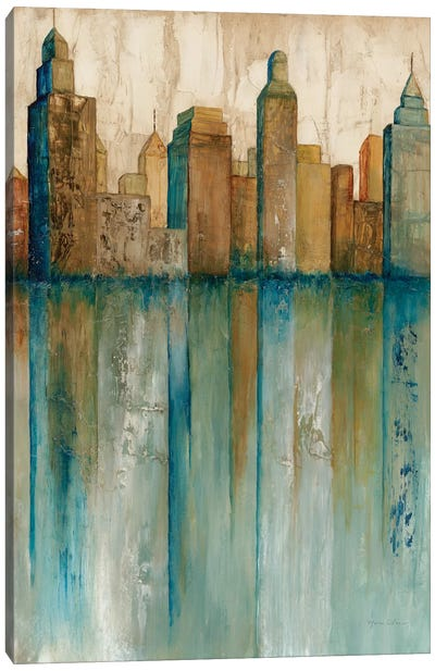 City VIew I Canvas Print #NOL1