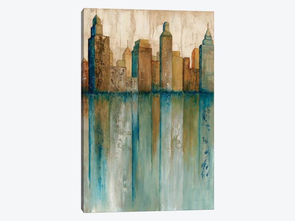 City VIew I by Norm Olson 1-piece Canvas Art Print