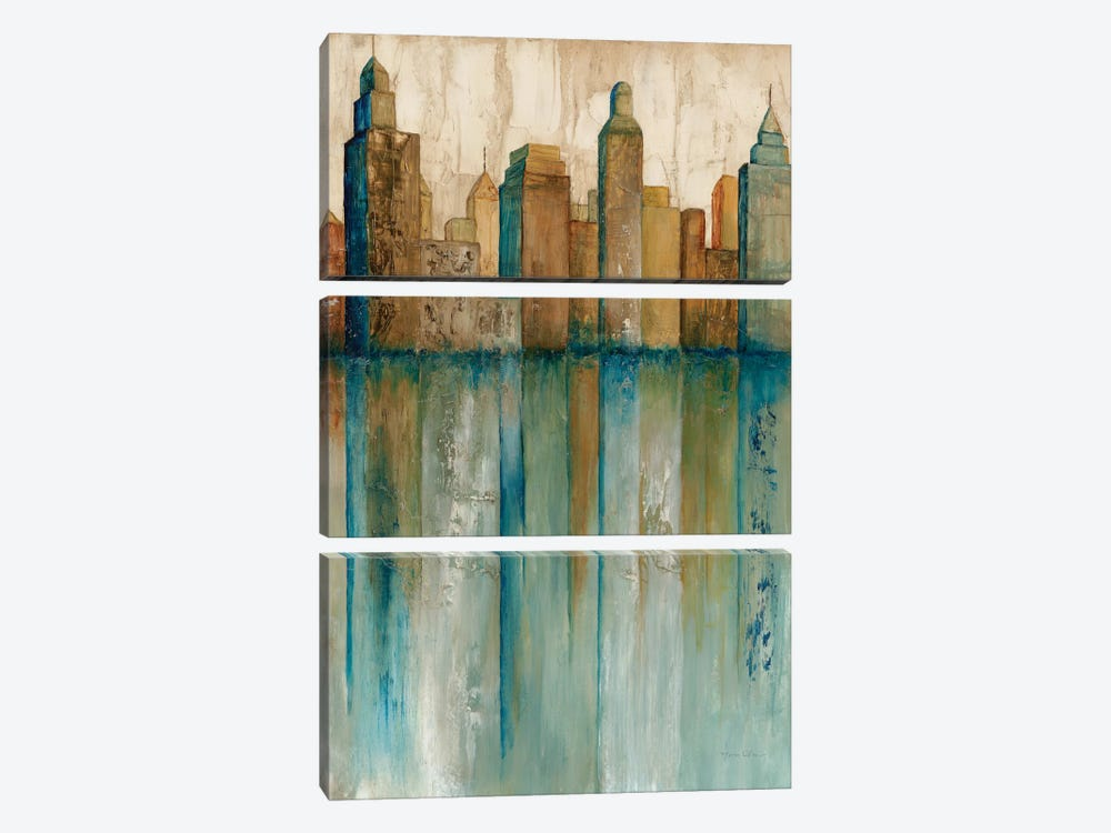 City VIew I by Norm Olson 3-piece Art Print