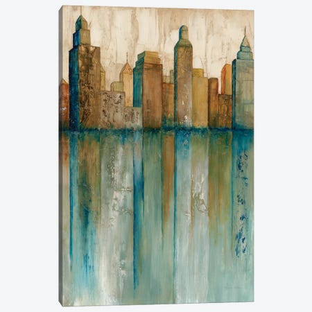 City VIew I Canvas Print #NOL1} by Norm Olson Canvas Art Print