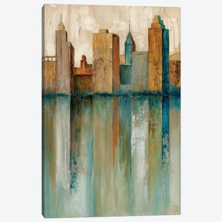 City VIew II Canvas Print #NOL2} by Norm Olson Art Print