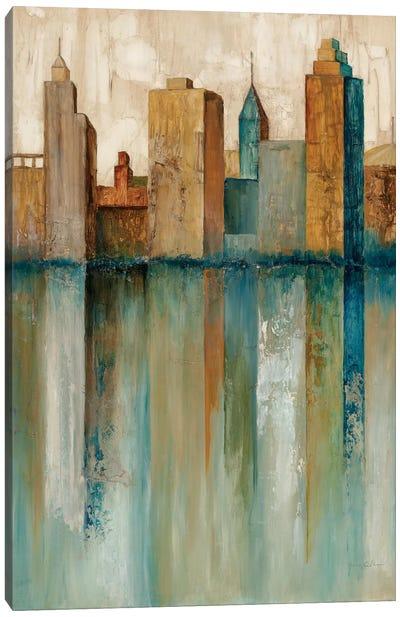 City VIew II Canvas Art Print